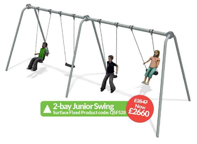 2-bay junior swing